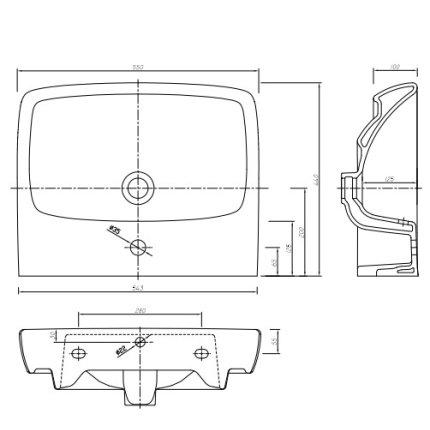 Lavoar Kolo Nova PRO 55cm