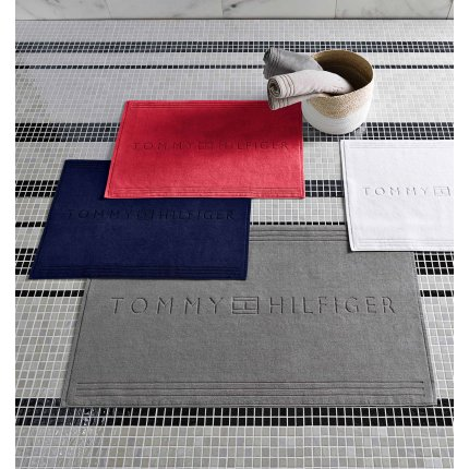 Covor de baie Tommy Hilfiger Plain 2 60x120cm, Silver