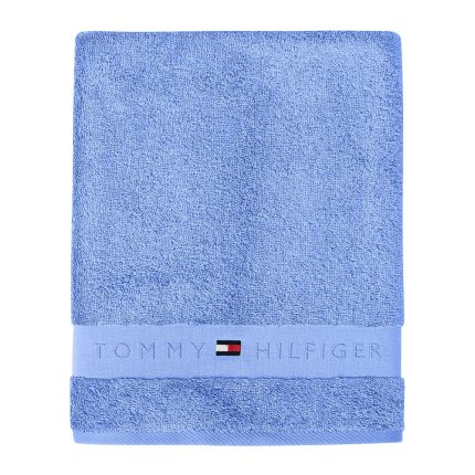 Prosop baie Tommy Hilfiger Plain 2 50x100cm, Bleu