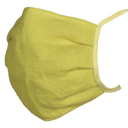 Masca de protectie Sander Linnen, in, galben