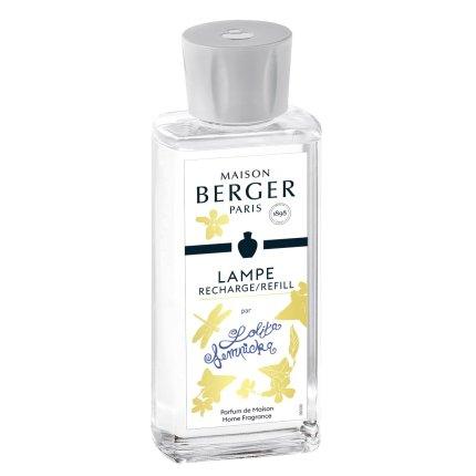 Set lampa catalitica cu parfum Berger Premium Lolita Lempicka Transparente