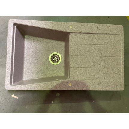 Chiuveta Teka Lumina 50B TG 1B 1D Pop-up, tegranit Sandbeige EXPUS