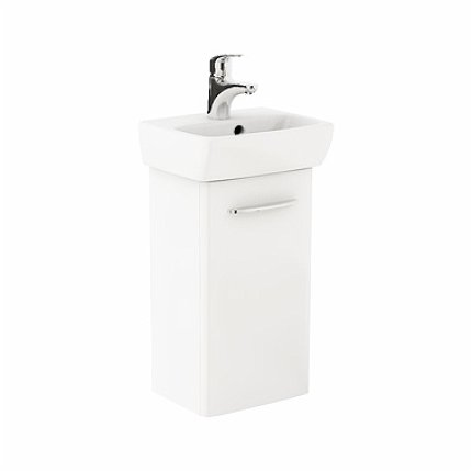 Set mobilier Kolo NOVA PRO dulap baza alb si lavoar ceramic 36x28 cm