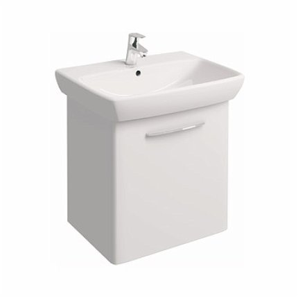 Set mobilier Kolo NOVA PRO dulap baza alb si lavoar ceramic 65x48 cm