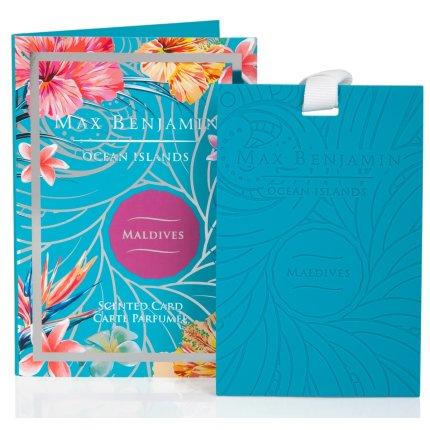 Card parfumat Max Benjamin Ocean Islands Maldives