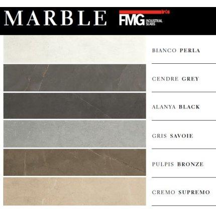 Gresie portelanata rectificata FMG Marble 30x60cm, 9mm, Cendre Grey Prelevigato