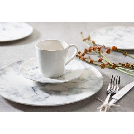 Set servire Villeroy & Boch Marmory Combi White 8 piese