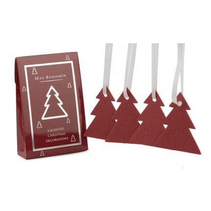 Set 4 carduri parfumate Max Benjamin Christmas Tree