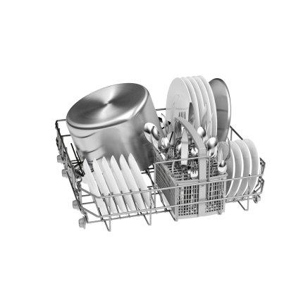 Masina de spalat vase incorporabila Bosch SMI25AS00E Serie 2, 60cm, 12 seturi, 5 programe, clasa A+, ActiveWater, Zeolith Drying system