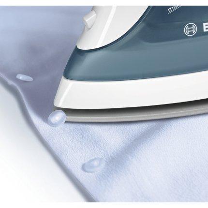 Fier de calcat Bosch TDA2365 QuickFilling 2200W talpa Palladium-glissee, alb-albastru