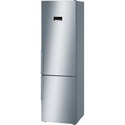 Combina frigorifica Bosch KGN39XL35 Serie 4, NoFrost, 366 litri, clasa A++, afisaj LCD, VitaFresh, InoxLook