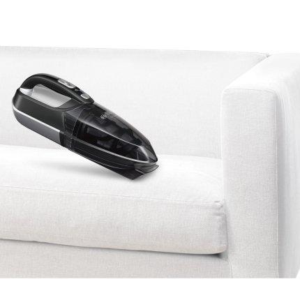 Aspirator de mana Bosch BHN14090 Move, acumulatori 14,4 V NiMh, recipient praf 300 ml, negru-argintiu