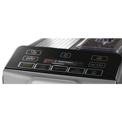 Espressor automat Bosch TIS30321RW VeroCup 300, 15 bari, rasnita ceramica, MilkMagic Pro, argintiu