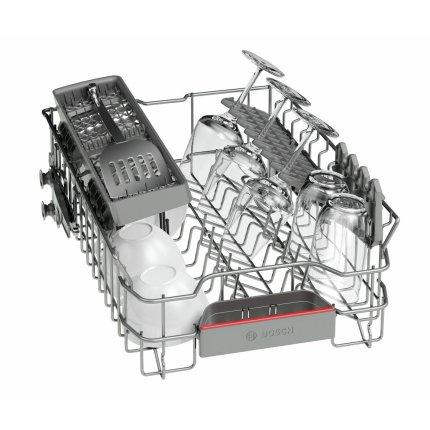 Masina de spalat vase independenta Bosch SPS46IW07E Serie 4, 9 seturi, 6 programe, 45cm, Clasa A++, SuperSilence, alb
