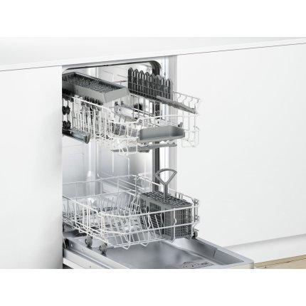 Masina de spalat vase incorporabila Bosch SPV24CX00E Serie 2, 45cm, 9 seturi, 4 programe, clasa A+, Silence Plus