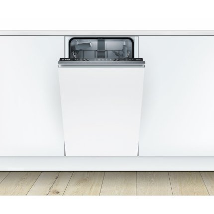 Masina de spalat vase incorporabila Bosch SPV25CX00E Serie 2, 45cm, 9 seturi, 5 programe, clasa A+, Silence Plus
