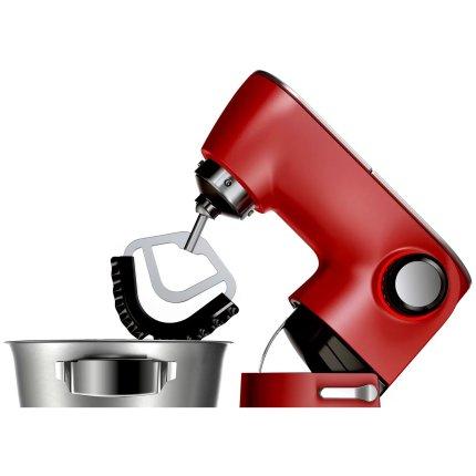 Robot de bucatarie Bosch OptiMUM MUM9A66R00 1600W, bol inox 5.5litri, 7 viteze + Puls, rosu