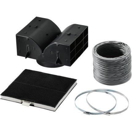 Kit recirculare Bosch DHZ5325 pentru hote DWA097A50, DWA067A50, DWB067A50, DWB06W452