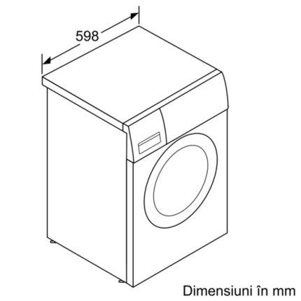 Masina de spalat rufe Bosch WAB20061BY Serie 2 5.5kg, 1000rpm, Clasa A+, ActiveWater