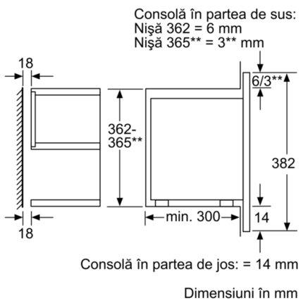 Cuptor cu microunde incorporabil Bosch BFL634GW1 Serie 8, Inverter, AutoPilot7, 21 litri, sticla alba