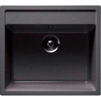 Set Teka Schwarzmetallic: Chiuveta Tegranit Menorca 60S TG 1B, 570x510mm + Baterie bucatarie MTP 978 Granit