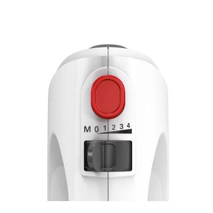 Mixer cu bol Bosch MFQ2600G CleverMixx 375W, alb