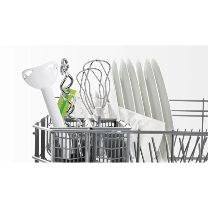 Mixer cu vacuum Bosch MFQ364V0 ErgoMixx, 450W, alb