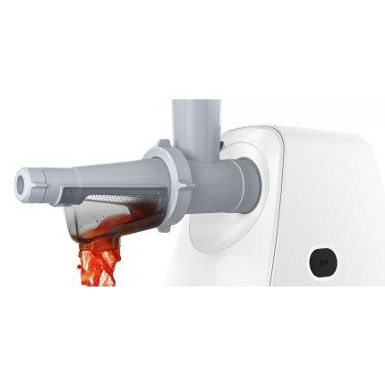Masina de tocat Bosch MFW2517W SmartPower, 1500W, 1.7kg/min, alb