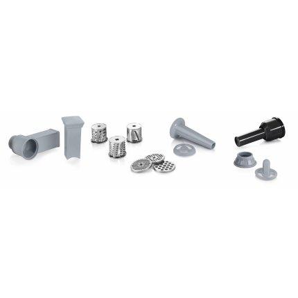 Masina de tocat Bosch MFW68640 ProPower, 4.3kg/min, 2200W, accesoriu kebbe, razuit/maruntit, carnati, negru