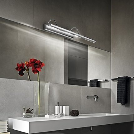 Aplica Ideal Lux Mirror-10 AP4, 4x40W, 60x15x198cm, bronz