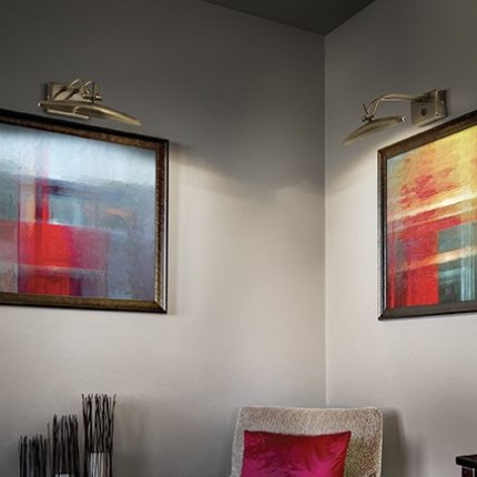 Aplica Ideal Lux Mirror-20 AP2, 2x40W, 25x22x10cm, bronz