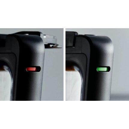 Blender de masa Bosch VitaPower MMB6384M Serie 4, 1200W, sticla ToGo, grafit