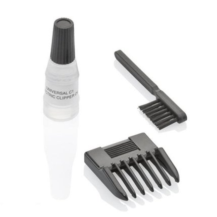 Aparat de tuns barba Moser Primat 1230 Mini, lame inox 32mm, gri deschis