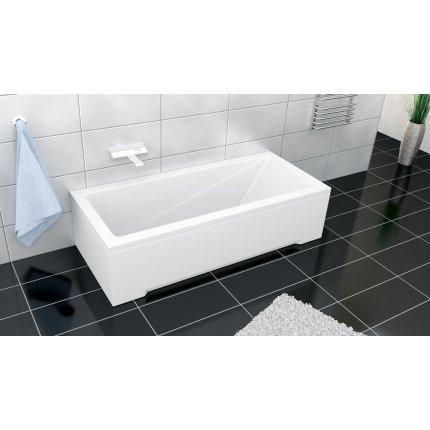 Cada rectangulara Besco Modern din acril 150 x 70 cm