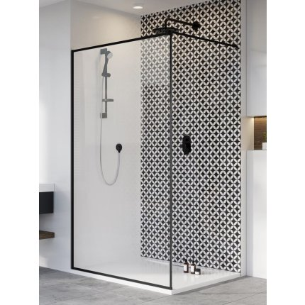 Cabina de dus tip Walk-in Radaway MODO New II Black Frame 90cm