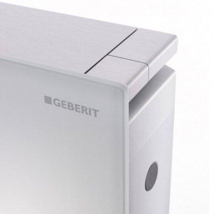 Rezervor wc Geberit Monolith aparent pentru wc suspendat 114cm sticla umber