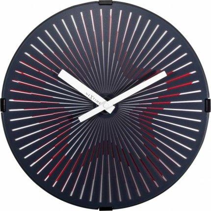 Ceas de perete NeXtime Motion Star 30cm Red