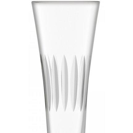 Set 2 pahare sampanie LSA International Moya Flute Clear Cut 170ml