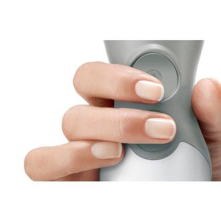 Blender de mana Bosch ErgoMixx MSM66110 600W alb-gri