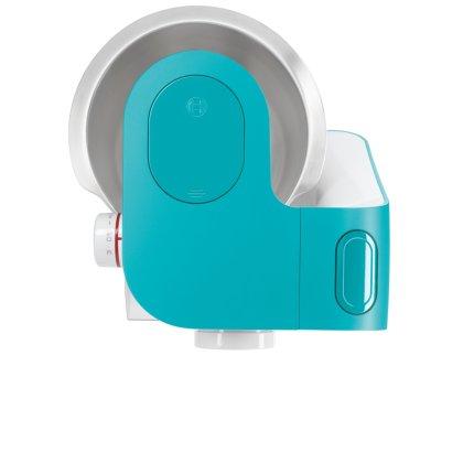 Robot de bucatarie Bosch MUM54D00 MUM5 StartLine, 900W, brat multifunctional, 7 viteze + Impuls, bol inox 3,9 litri, alb - albastru dinamic