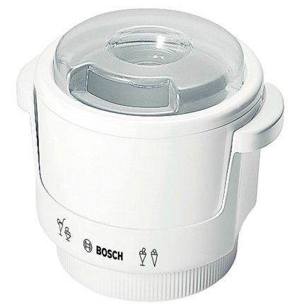 Dispozitiv de preparat inghetata Bosch MUZ4EB1 pentru robotii MUM4, max. 550 g, alb