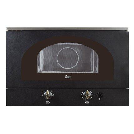 Cuptor cu microunde incorporabil Teka MWR 22 BI 850W, 22 litri, baza ceramica, antracit