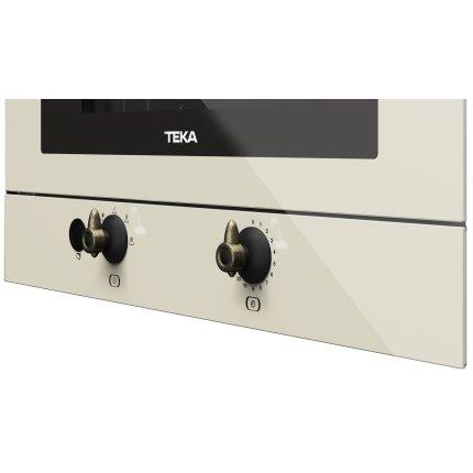 Cuptor cu microunde incorporabil Teka MWR 22 VN 850W, 22 litri, baza ceramica, Vanilla Rustic