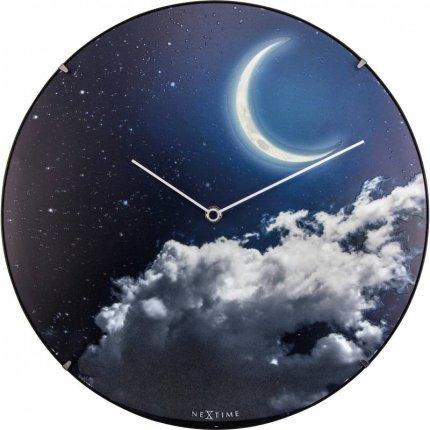 Ceas de perete NeXtime New Moon Dome 35cm