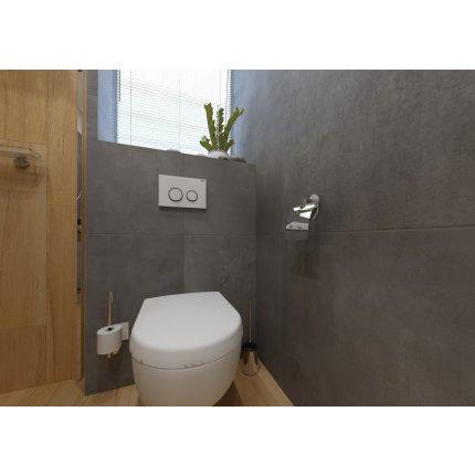 Perie wc cu prindere pe perete Bemeta Omega