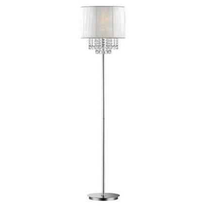 Lampadar Ideal Lux Opera PT1, 1x60W, 38.5x163cm, alb