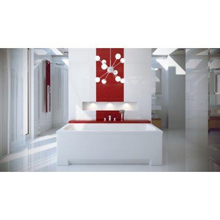 Cada baie rectangulara Besco Optima 150x70cm, acril