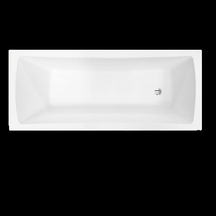 Cada baie rectangulara Besco Optima 140x70cm, acril