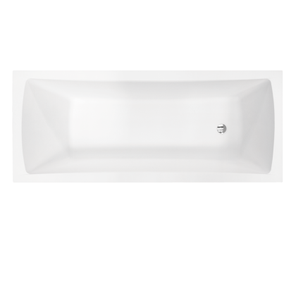 Cada rectangulara Besco Optima Premium 160x70cm