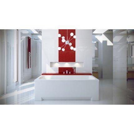 Cada baie rectangulara Besco Optima 170x70cm, acril